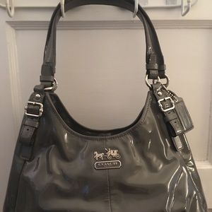 Coach Maggie Patent Leather Handbag